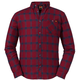 Schöffel Gateshead Longsleeve Shirt Heren, biking red